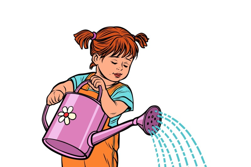 girl-watering-can-watering-a-flower