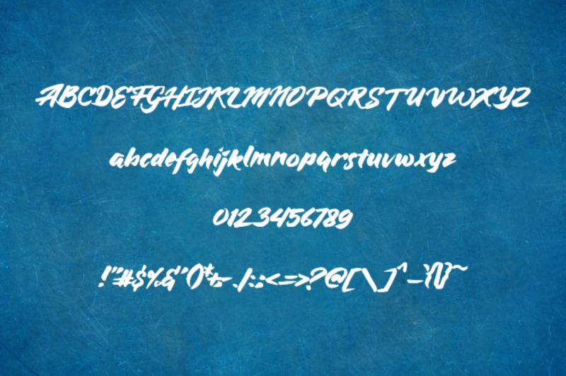 bluesilky-typeface