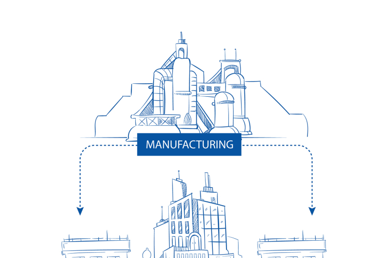 supply-chain-with-industry-factory-warehouse-retail-building-store