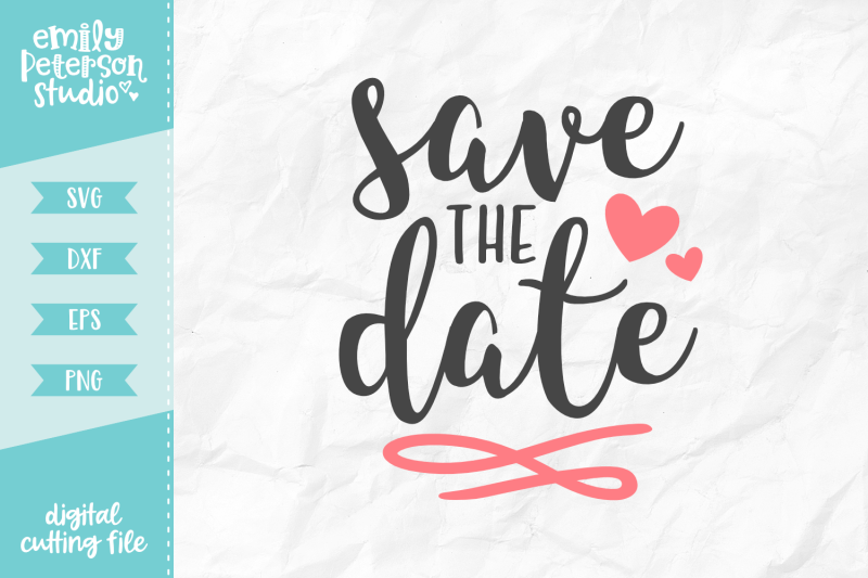 save-the-date-svg-dxf