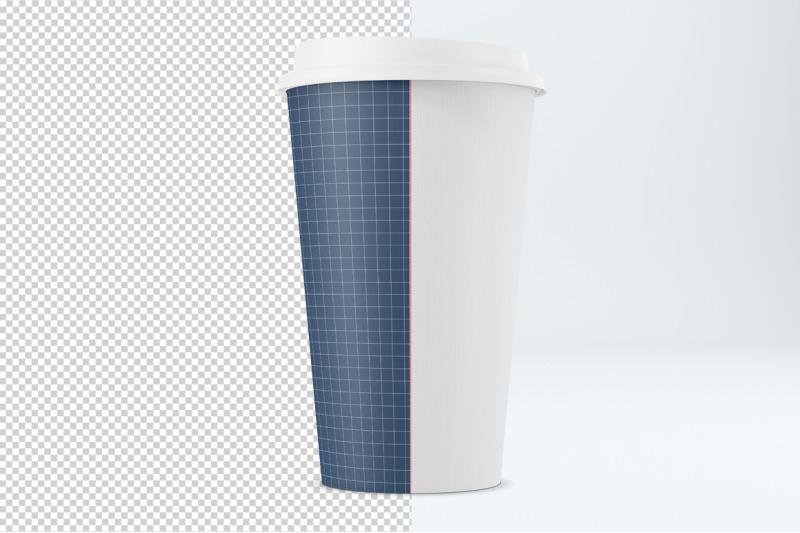 Closed Coffee Cup Mockup