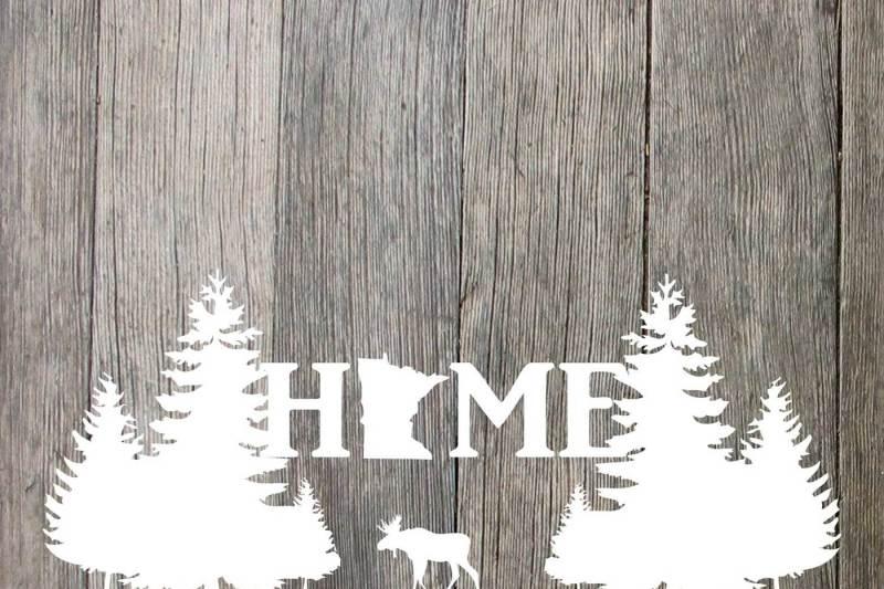 minnesota-home-moose-and-trees