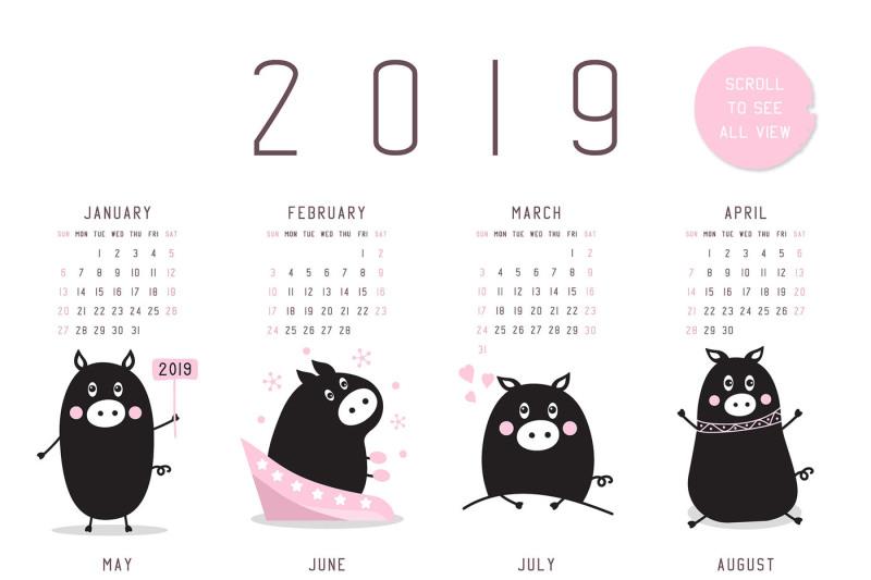 funny-pig-graphics-and-calendar