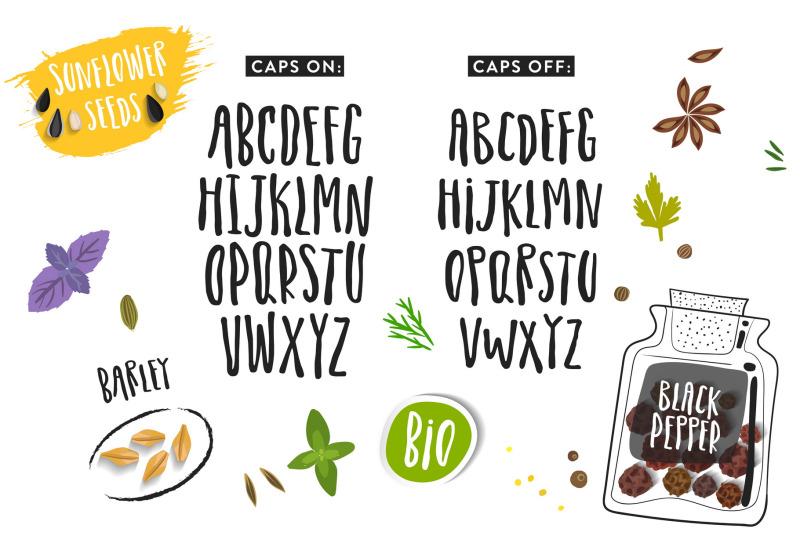 organic-font