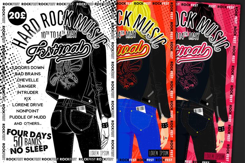 hard-rock-festival-flyer