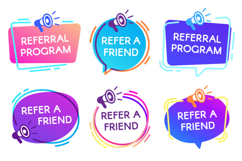refer-friend-badges-referral-program-badge-salesperson-megaphone-mar