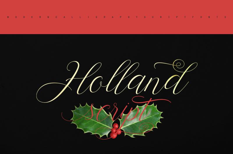 holland-script