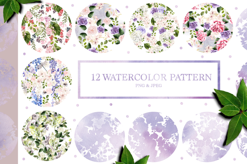 12-hand-drawn-watercolor-patterns