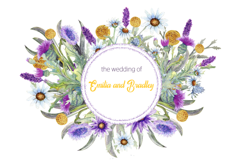 wedding-templates-of-wild-flowers-handmade-watercolor