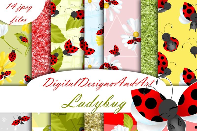 ladybug-digital-paper