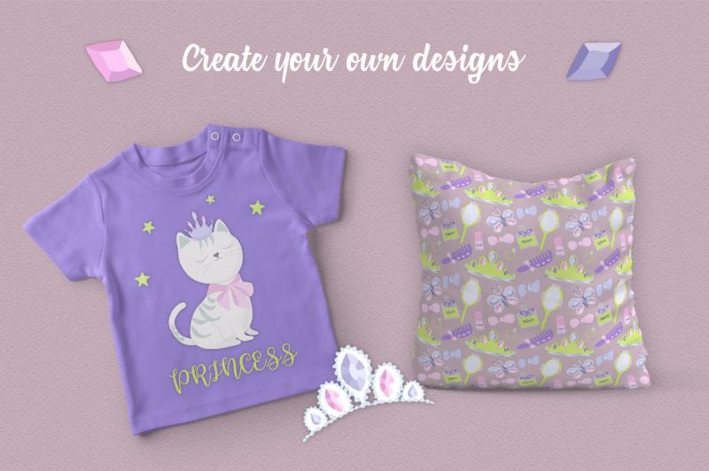 cute-princess-illustration-set