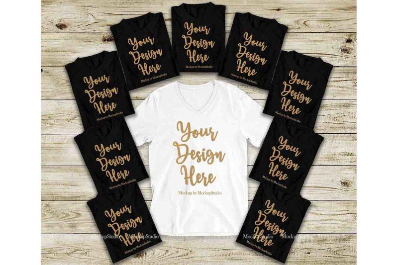 Free Bachelorette Party Shirts Mockup, Bridal Shower T-Shirts Mock Up (PSD Mockups)