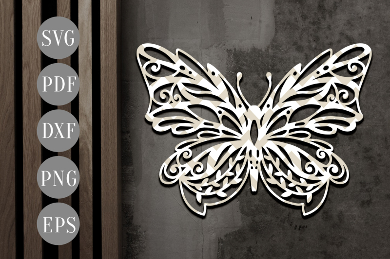 butterfly-papercut-template-spring-clipart-svg-dxf-pdf