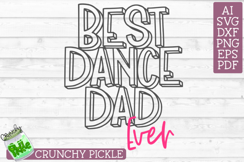 best-dance-dad-ever-svg