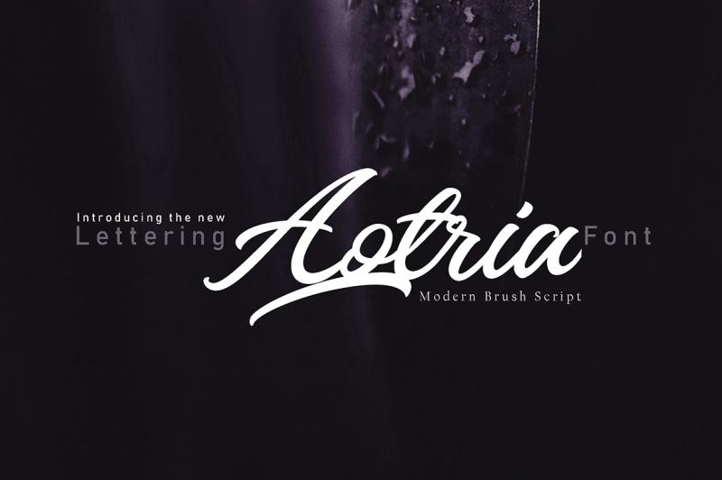 aotria-modern-brush-script