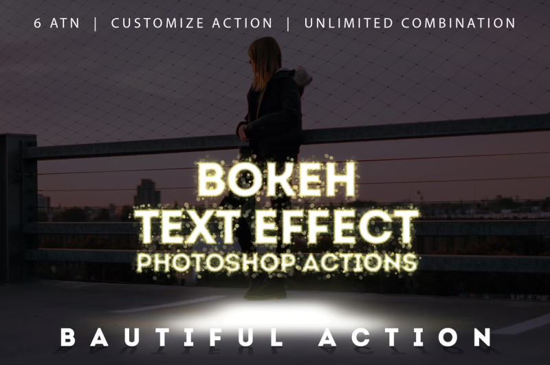 new-year-bokeh-text-effect-action
