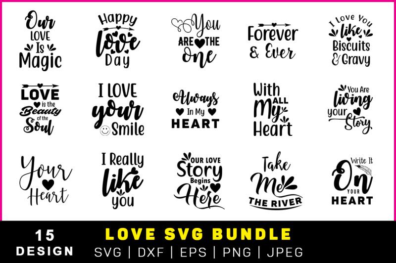 love-svg-bundle