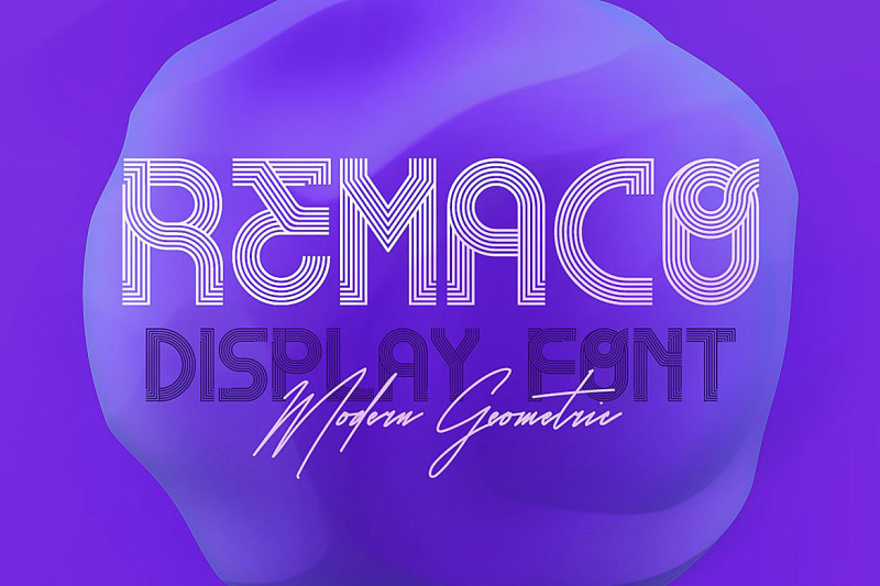 remaco-display-font