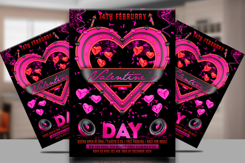valentines-day-party-flyer-template