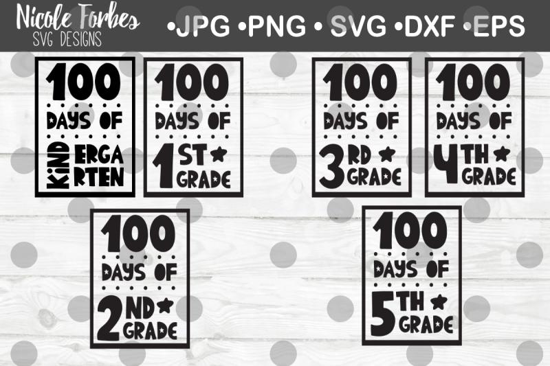 100-days-of-school-svg-bundle