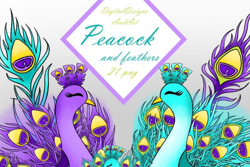 peacock-clipart