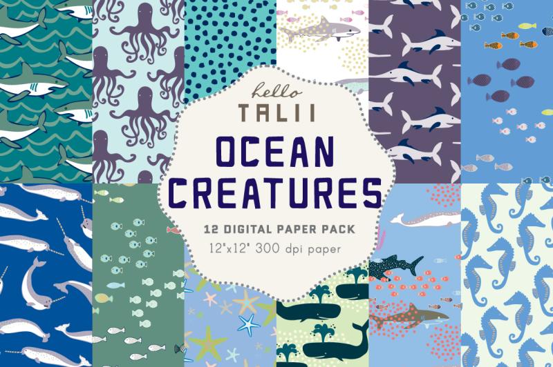 under-the-sea-digital-paper