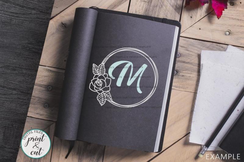 floral-rose-wreath-circle-monogram-frame-svg-dxf-pdf-cut-digital-file