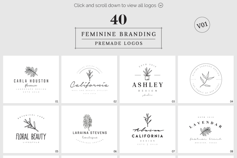 feminine-branding-premade-logos-v01