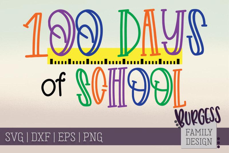 100-days-of-school-ruler-cut-file