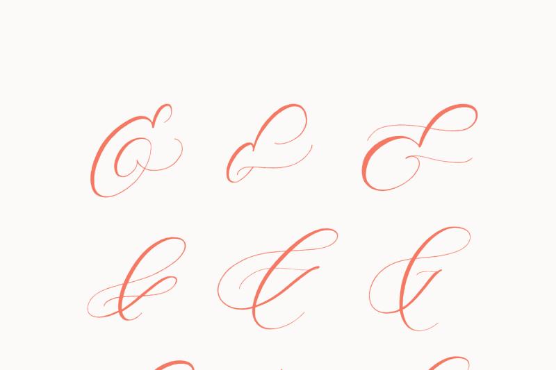 zoxi-a-calligraphy-script-font