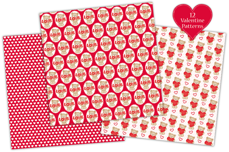 valentine-digital-paper-valentine-patterns-valentine-039-s-day