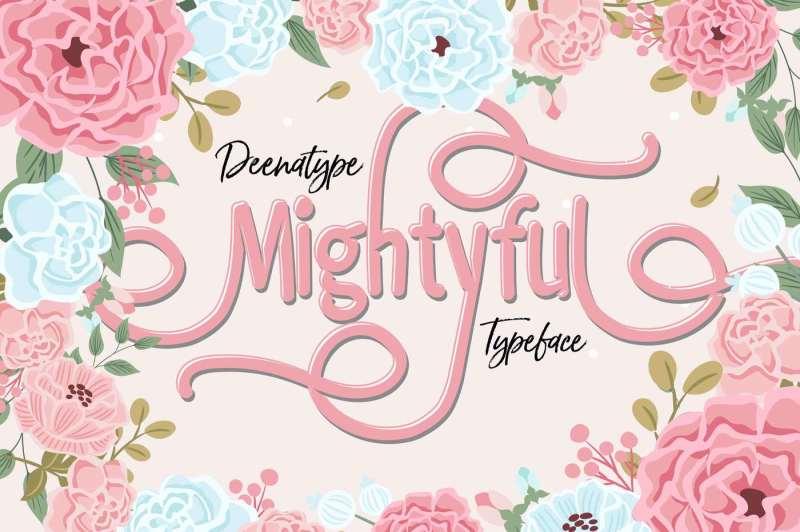 mightyful-typeface
