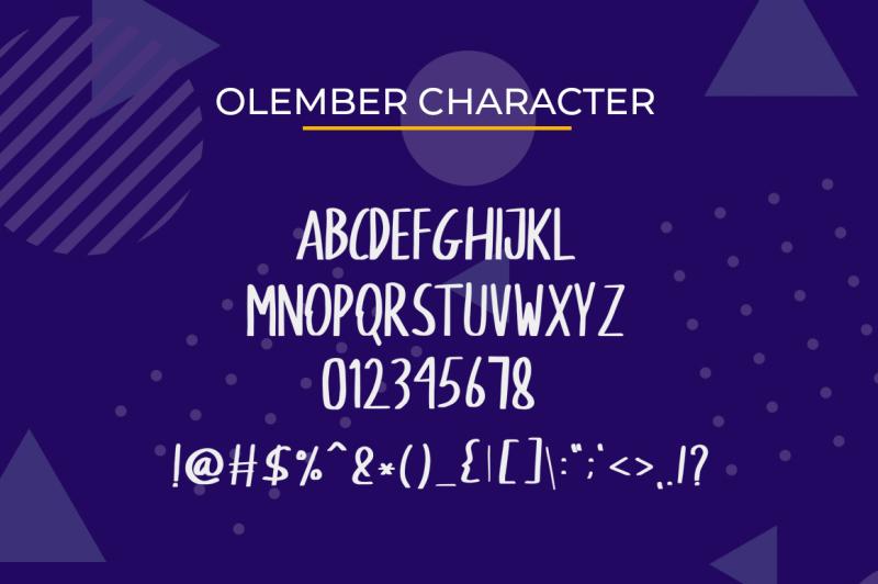 olenber-font