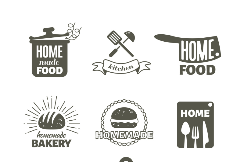 retro-kitchen-cooking-at-home-and-handmade-vector-badges-and-logos