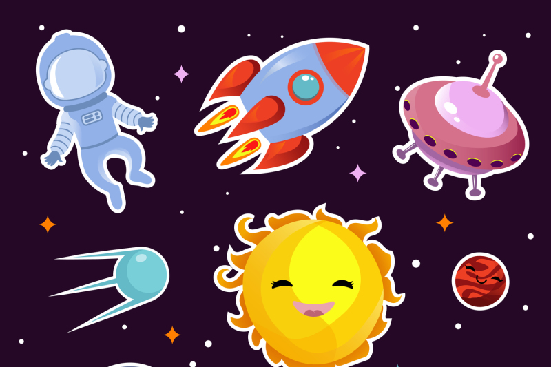 space-vector-fashion-patch-badges-with-planets-stars-and-alien-spaces