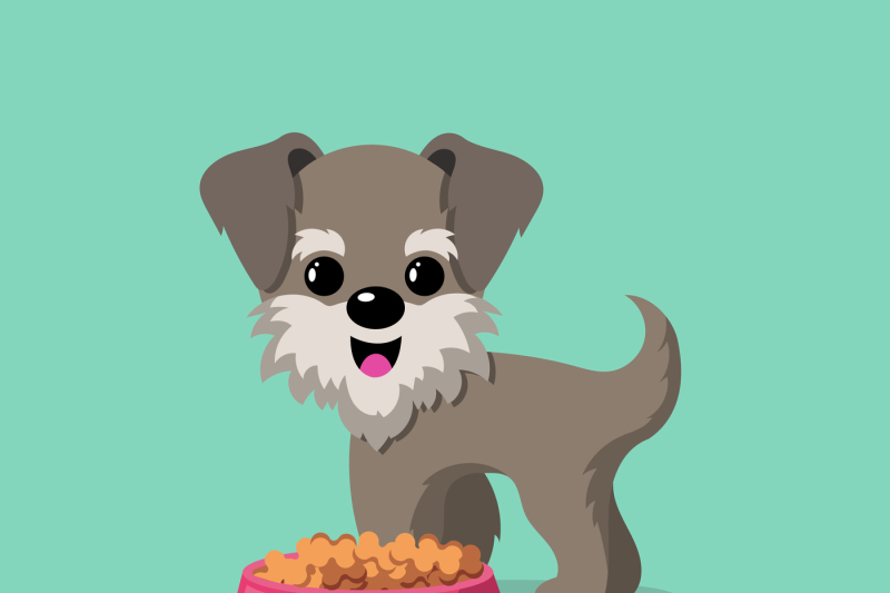cartoon-dogs-vector-background