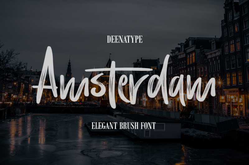 amsterdam-brush-font