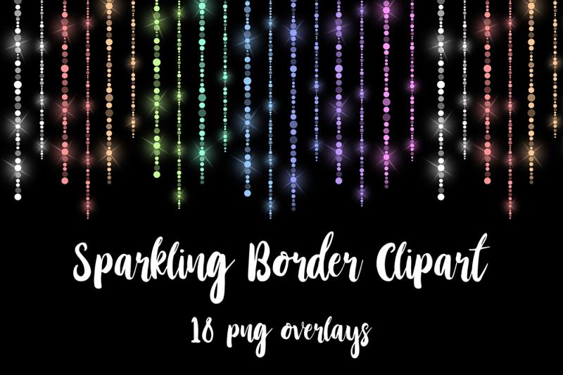 Fairy Lights Borders By North Sea Studio Thehungryjpeg Com