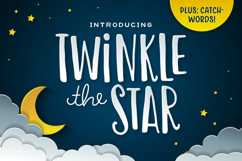 twinkle-the-star-font