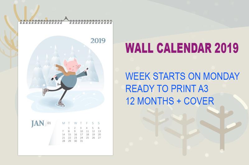 funny-pig-calendar-2019