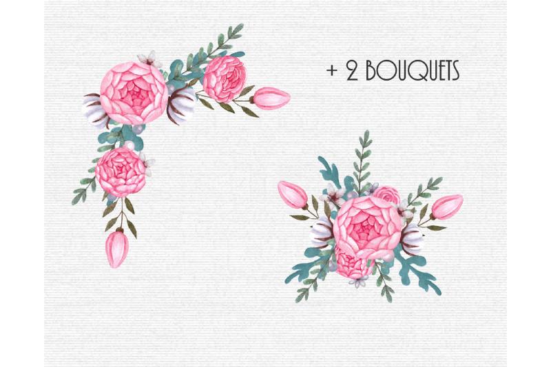floral-watercolor-elements-clipart