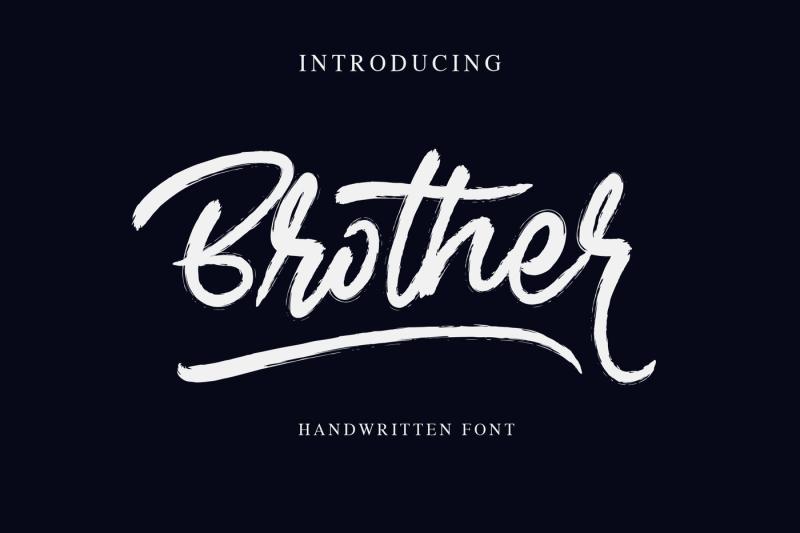brother-handwritten-font