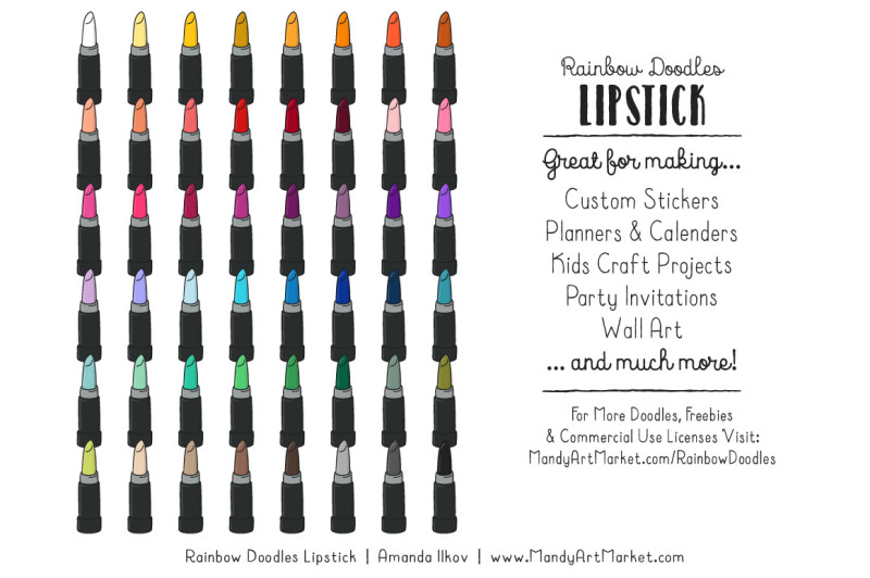rainbow-doodles-lipstick-clipart