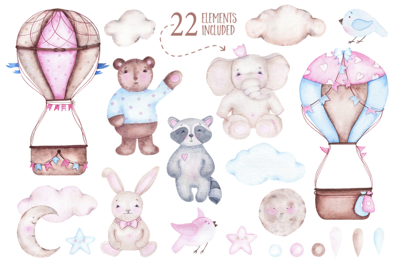 hot-airballoons-watercolor-clipart
