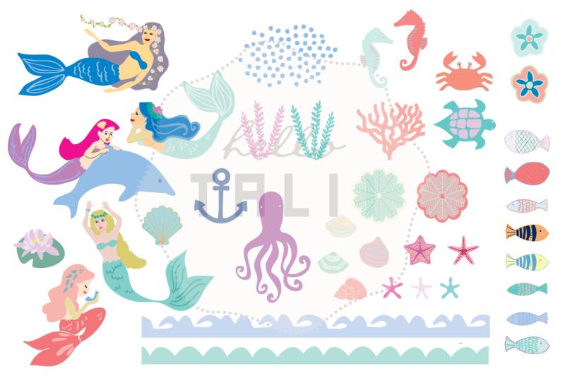 mermaids-clip-art
