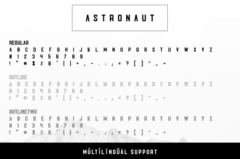 astronaut-typeface-6-fonts