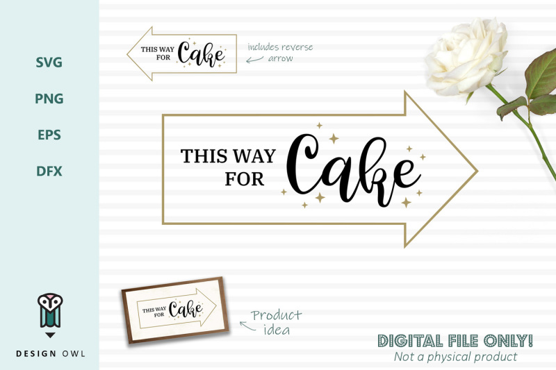 this-way-for-cake-svg-file