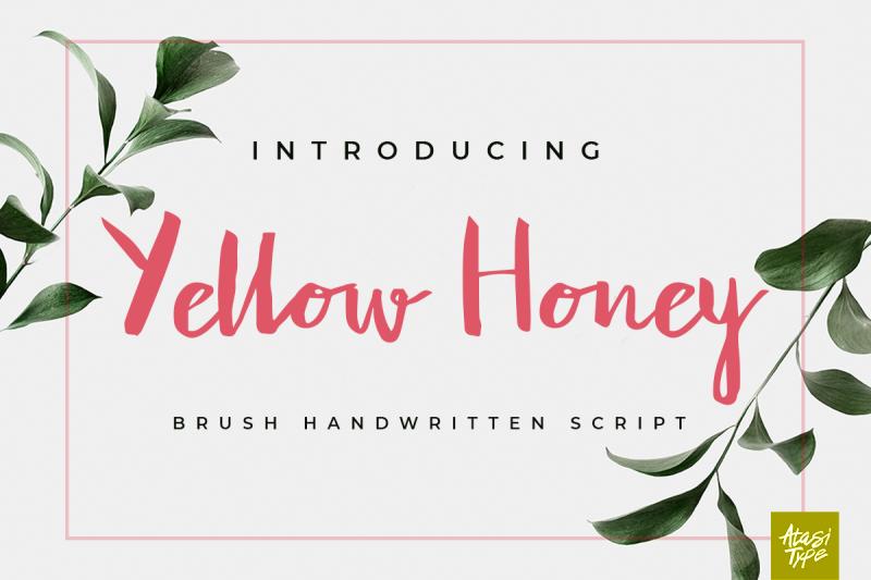 yellow-honey-script