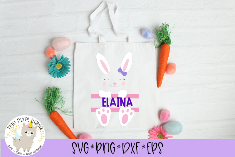 bunny-girl-split-name-monogram-easter-basket-svg-cut-file