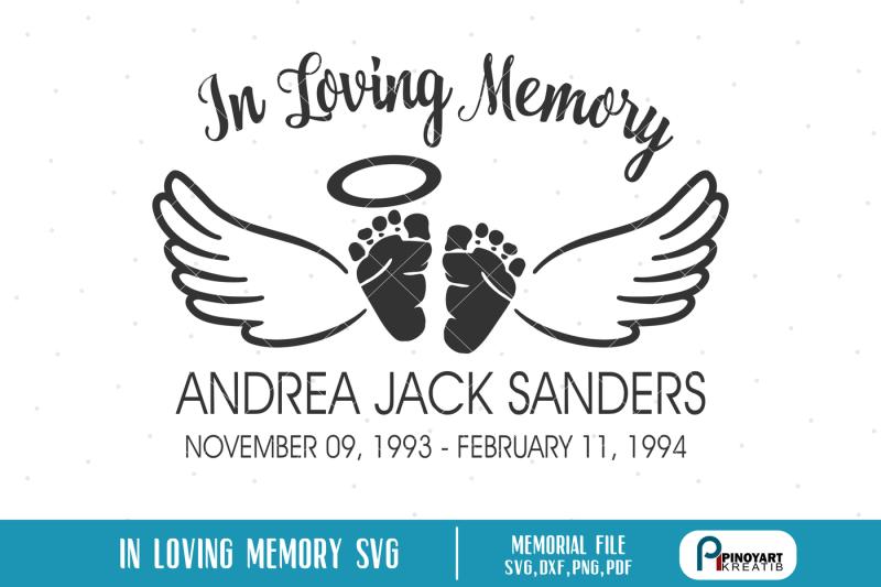 in-loving-memory-svg-baby-angel-svg-baby-memorial-svg-baby-svg-svg